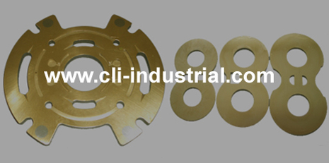 Side plate, gear pump