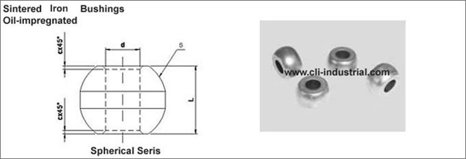 Iron Spherical Bushings